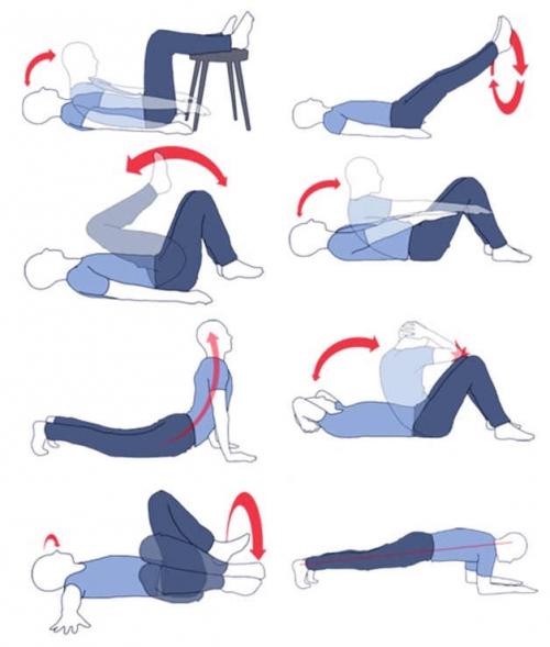 Эффективные упражнения против боков