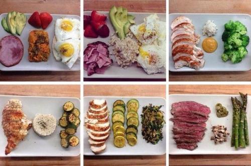 Еда для набора массы