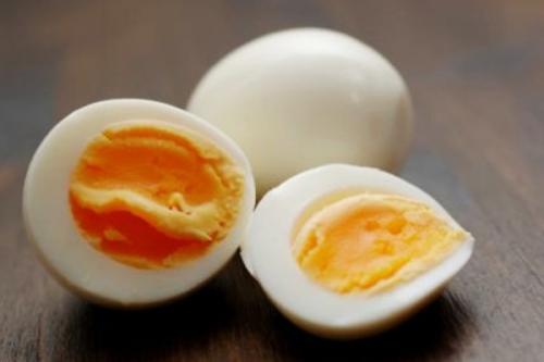 Яйцо куриное вареное