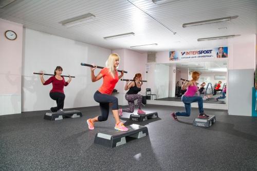 Силовые упражнения в зале