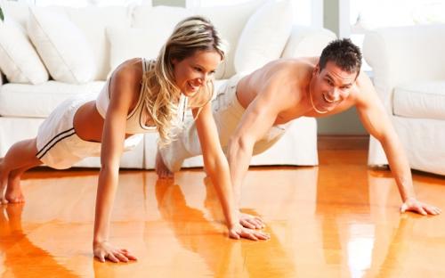 Занимайтесь фитнесом вместе