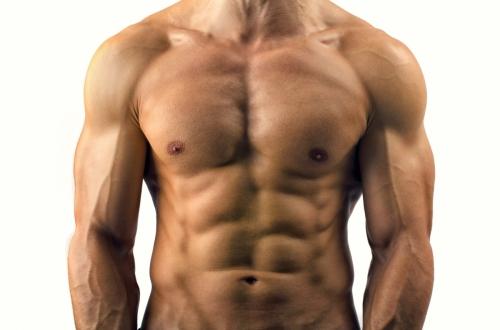 Хорошо проработанные мышцы
