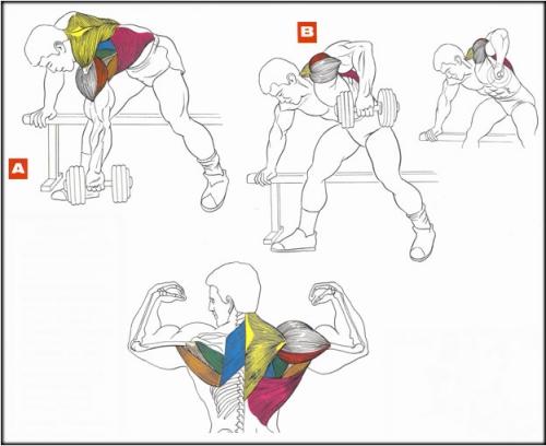 Детальная схема упражнения