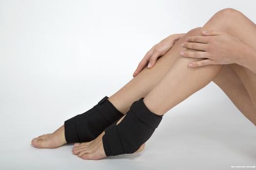 Ноги после растяжения голеностопа