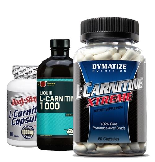 Разные виды л-карнитина
