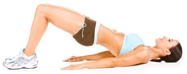 Упражнение с эластичной лентой