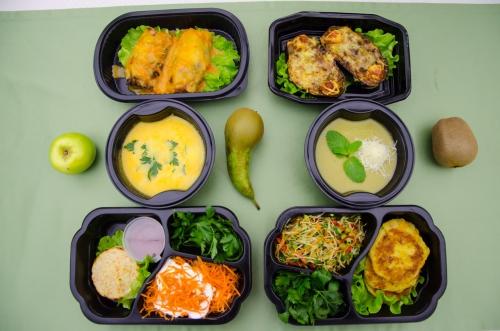 Набор еды на день для набора массы